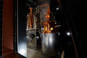 Naught Distilling's Abigail still